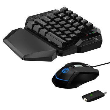 Gamesir VX AimSwitch Keyboard Mouse Gamepad Converter Single Hand Mechanical Keyboard For PS4/PS3/Xbox One/Nintendo Switch/PC