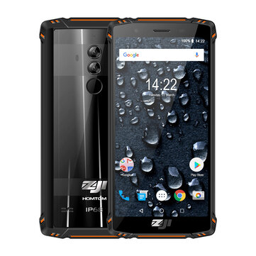 £191.047%HOMTOM ZOJI Z9 Global Bands IP68 5.7 Inch HD+ 5500mAh Android 8.1 6GB 64GB Helio P23 Octa Core 4G SmartphoneSmartphonesfromMobile Phones & Accessorieson banggood.com