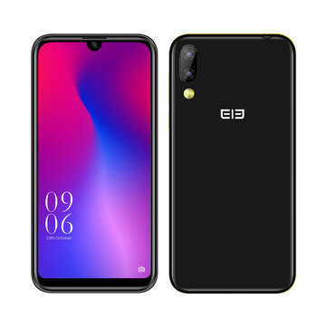 Elephone A6 Mini 5.71 Inch HD+ Android 9.0 3180mAh Side Fingerprint 4GB 32GB MT6761 Quad Core 4G Smartphone