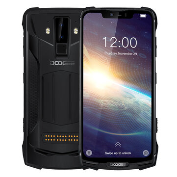 DOOGEE S90 Pro Super Bundle Global Bands IP68 Waterproof 6.18 inch FHD+ NFC Android 9.0 5050mAh 16MP AI Dual Rear Cameras 6GB RAM 128GB ROM Helio P70 Octa Core 4G Smartphone SmartphonesfromMobile Phones & Accessorieson banggood.com