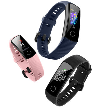 Huawei Honor Band 5 Global Version Blood Oxygen Oximeter AMOLED Touch Screen Swim Posture Detect Heart Rate Smart Watch