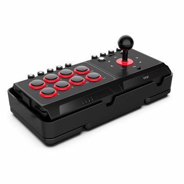 iPega PG-9059 DC5V USB Fight Joystick Arcade Stick for Nintendo Switch NS for Playstation 4 PS3 4 PC Android Game Controller with Turbo Macro