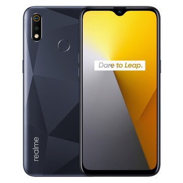 Realme 3i Global Version 6.2 inch HD+ Android 9.0 4230mAh 13MP AI Front Camera 4GB RAM 64GB ROM Helio P60 2.0GHz 4G SmartphoneSmartphonesfromMobile Phones & Accessorieson banggood.com