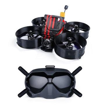iFlight X DJI MegaBee HD 3 Inch 4S FPV Racing Drone BNF/PNP w/ Digital HD FPV System Air Unit 720p/120fps 1440x810 FPV Goggles