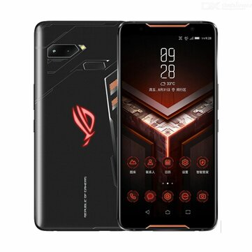 ASUS ROG Phone ZS600KL 6.0 Inch FHD+ IP68 Waterproof NFC 4000mAh 12MP + 8MP Dual Rear Camera 8GB RAM 128GB ROM Snapdragon 845 Octa Core 2.96GHz 4G Gaming Smartphone Smartphones from Mobile Phones & Accessories on banggood.com