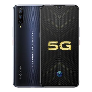 VIVO iQOO Pro 5G Version 6.41 inch Super AMOLED 48MP Triple Rear Camera NFC 12GB 128GB Snapdragon 855 Plus Octa core 5G SmartphoneMobile PhonesfromPhones & Telecommunicationson banggood.com