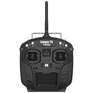 JumperTX T8SG 2.4G 12CH Hall Gimbal Open Source Multi-protocol Transmitter for RC Drone