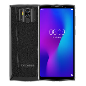 DOOGEE N100 Global Version 5.99 inch FHD+ 10000mAh NFC Android 9.0 21MP+8MP Dual Rear Cameras 4GB RAM 64GB ROM Helio P23 Octa Core 4G Smartphone Smartphones from Mobile Phones & Accessories on banggood.com