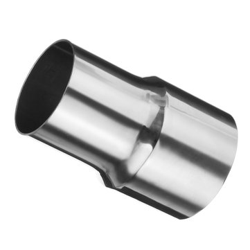 2 5 inch to 2 inch stainless steel flared turbo exhaust reducer connector pipe tube