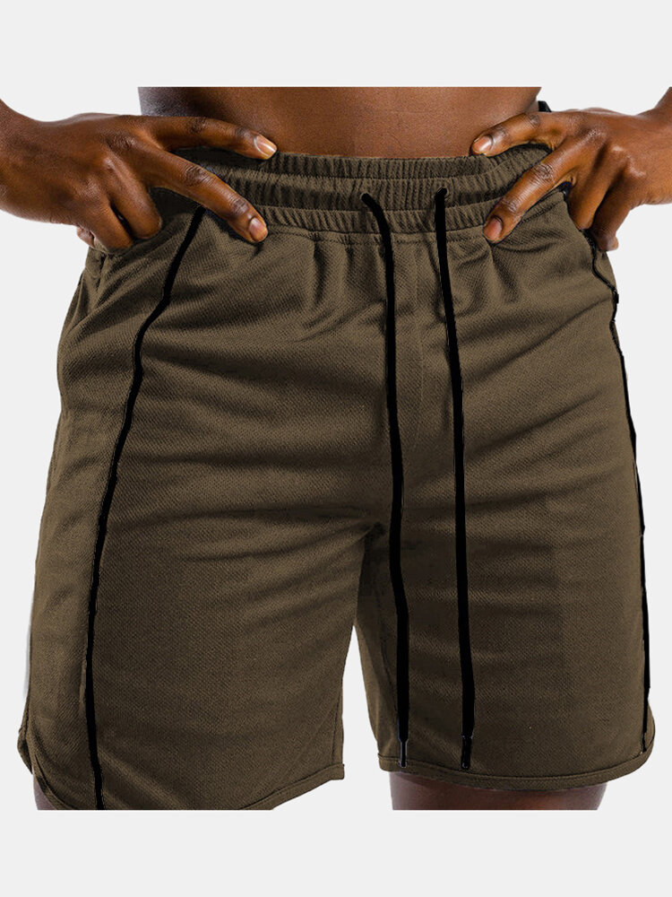 Best Mens Sports Breathable Fitness Running Drawstring Shorts You Can Buy