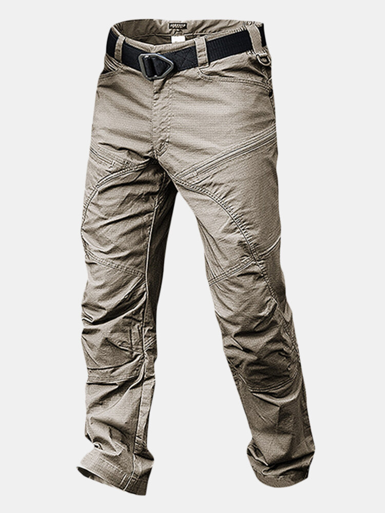Best Mens Outdoor Muti-Pockets Pants Water-repellent Tactical Pants Military Training Pants You Can Buy
