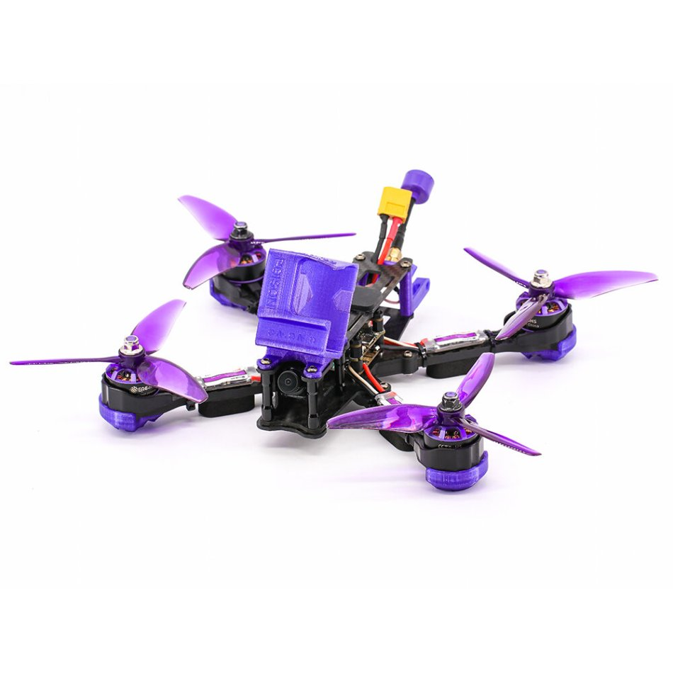 Eachine Wizard X220 V2 5 Inch 4S FPV Racing Drone PNP FOXEER Arrow Micro Pro Cam F405 DJI DUAL BEC V1 Flight Controller 30A Blheli_S Brushless ESC 2207 2550KV Motor