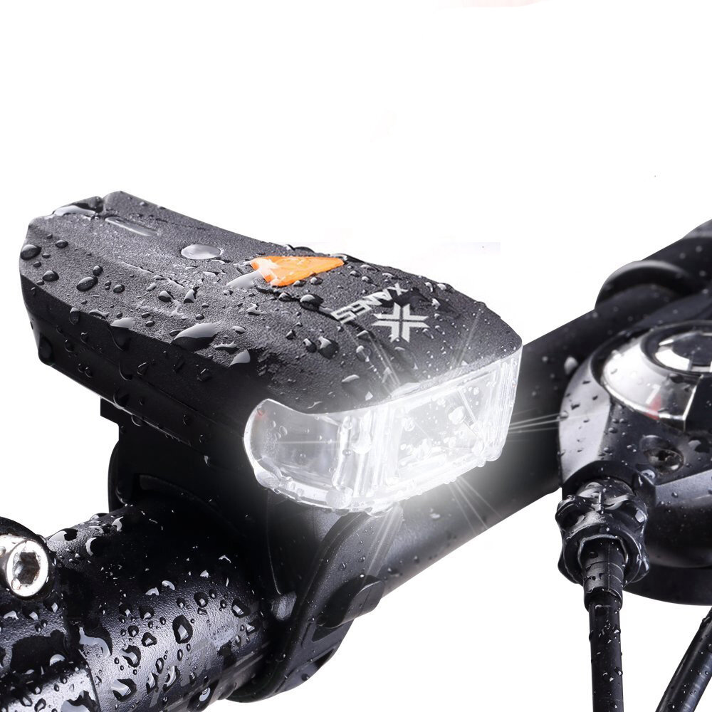 XANES SFL-01 600LM XPG + 2 LED Bicycle German Standard Smart Sensor Warning Light