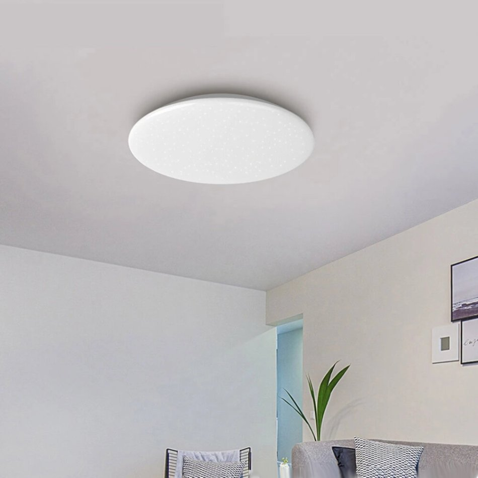 Yeelight ChuXin A2001C550 Star Edition 50W AC220V Smart Ceiling Light Dimmable Bluetooth Remote APP Voice Control Quick Installation Design Works With Homekit ( Ecological Chain Brand)