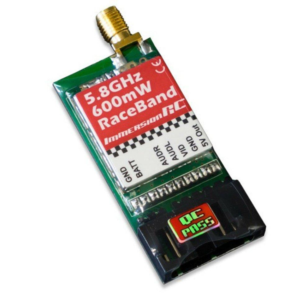 On Sale Limited Stock ImmersionRC Raceband 5.8GHz 600mW 40CH FPV Transmitter AV VTX Module for FatShark