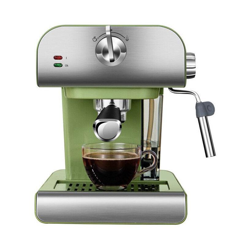 ZZUOM CM6867 850W Espresso Coffee Machine 20 Bars Semi-automatic Coffee Steam Milk Frother Coffee Maker