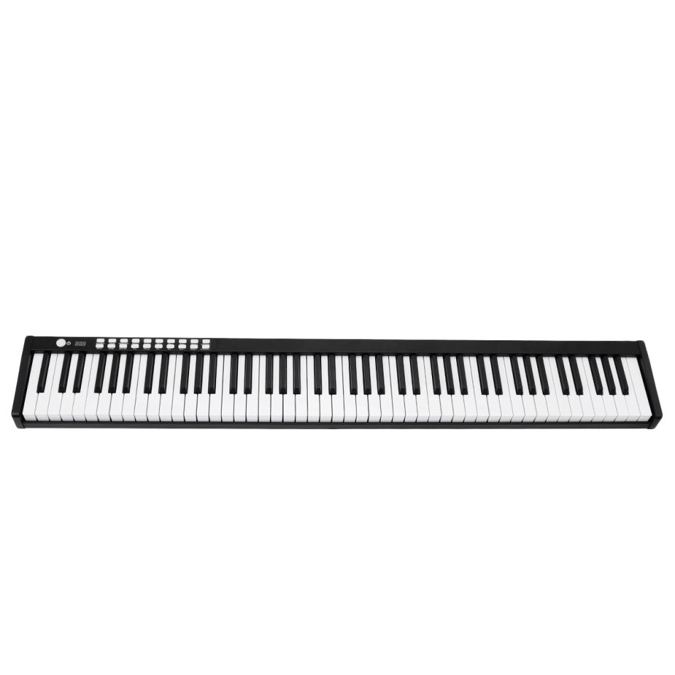 BORA BX-1A 88 Keys Portable Standard Keyboard LED Keys Smart Electronic Piano COD