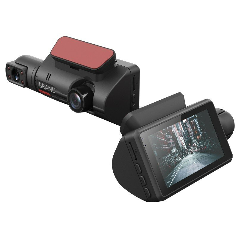 FHD 1080P Night Vision Car DVR Camera Dash Cam Dual Record Hidden Video Recorder Dash Camera Parking Monitoring DashCam