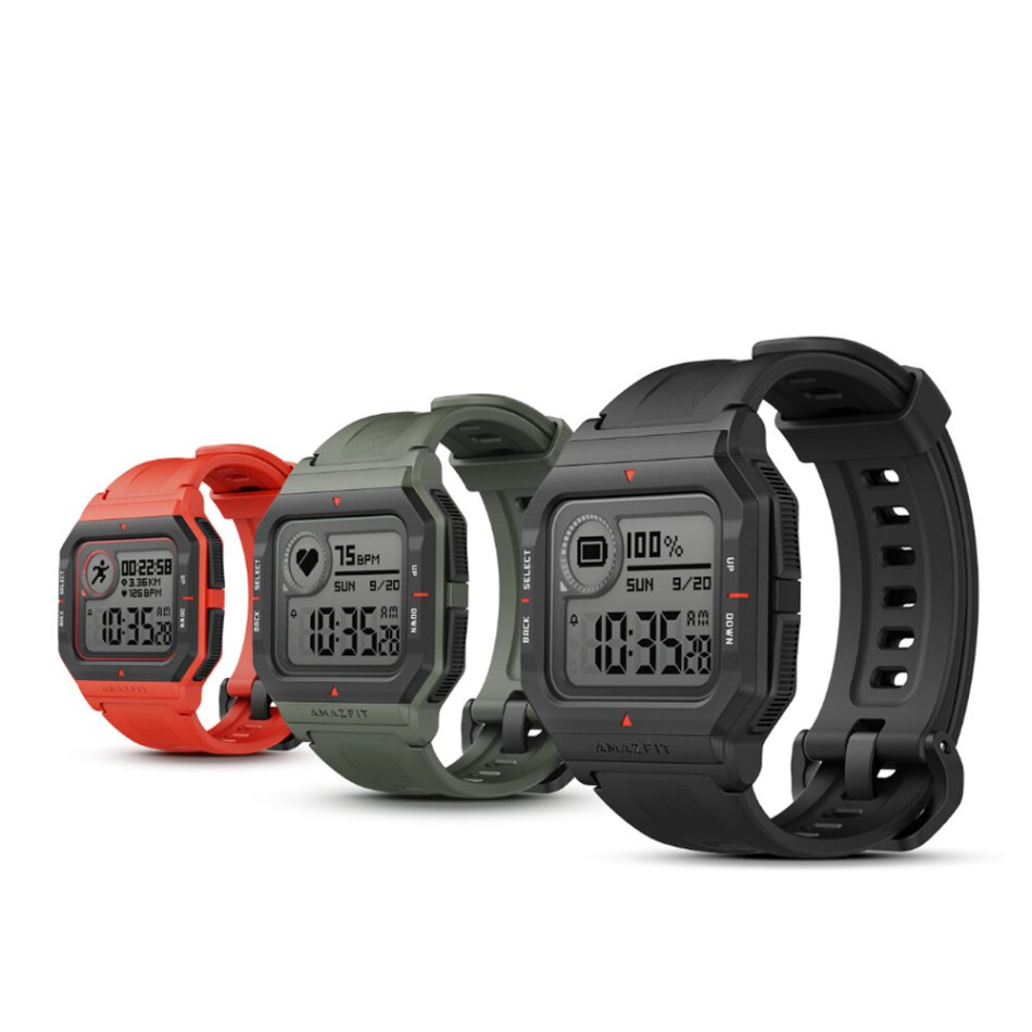 Original Amazfit NEO 28 Days Long Standby Always On Display Wristband 24 Hours Heart Rate Monitor 5ATM Waterproof Smart Watch