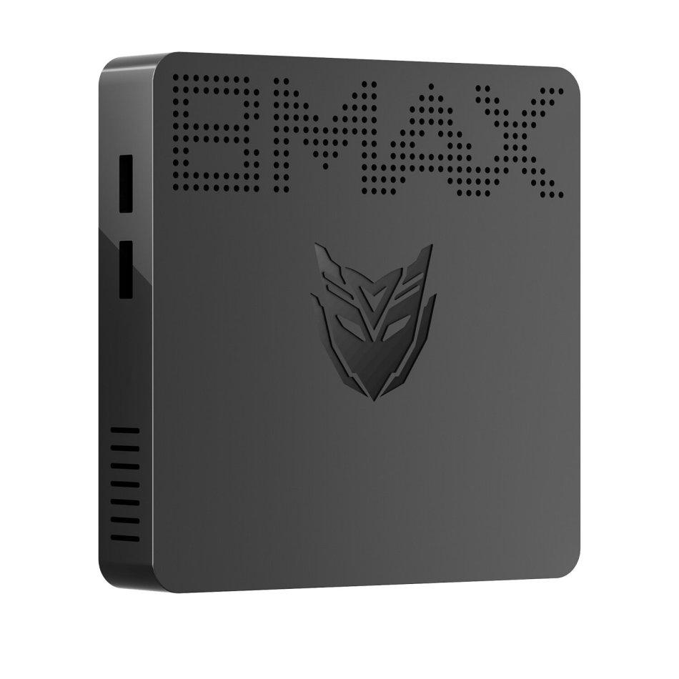 Bmax B1 Mini PC Intel Celeron J3060 Dual Core 1.6GHz up to 2.4GHz 4GB LPDDR3 64GB eMMC Intel HD Graphics Wifi bluetooth M.2 SATA 12V/2A HD VGA