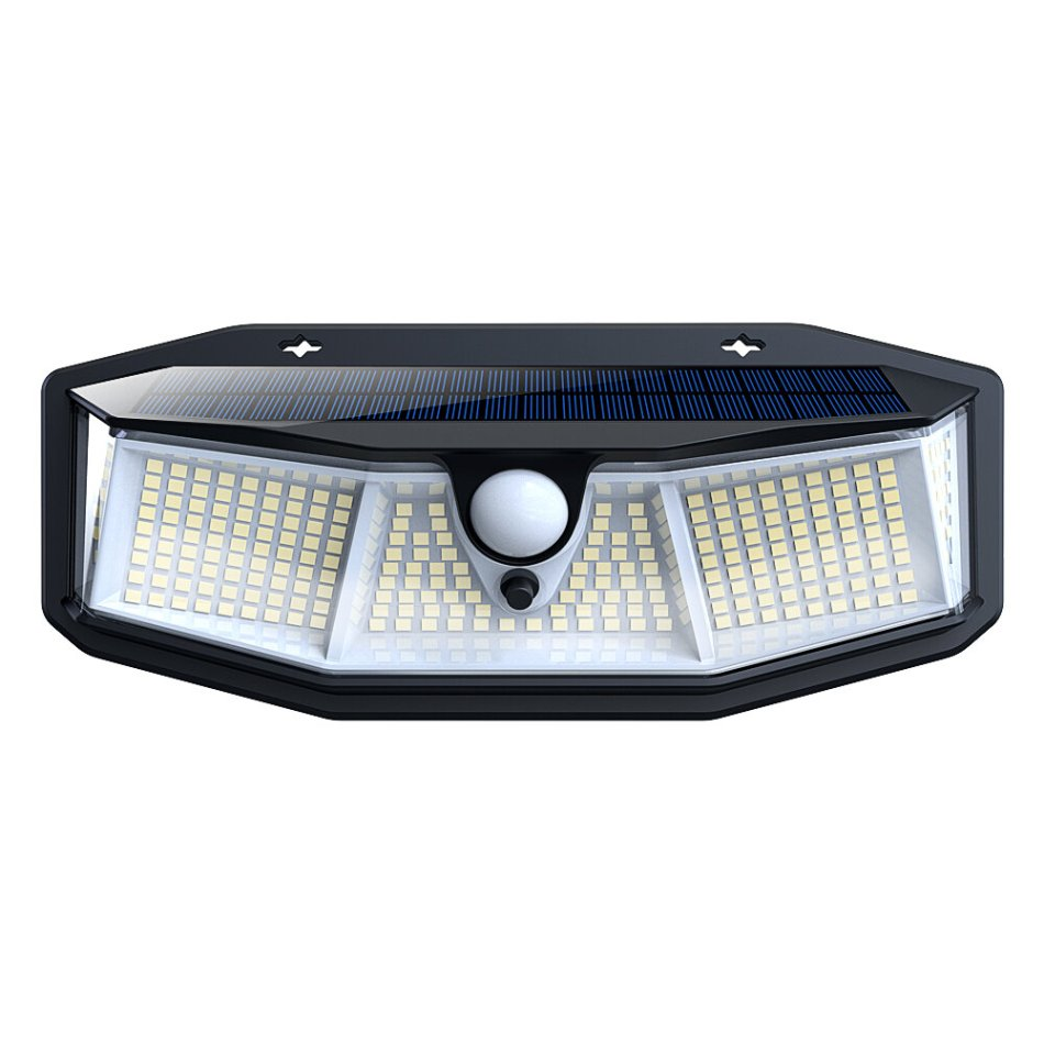 ARILUX 308LED Solar Wall Light PIR Motion Sensor Outdoor Waterproof IP65 Lamp 3 Modes 800LM COD
