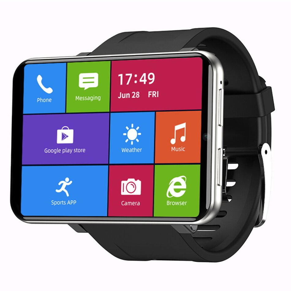 [Face Unlock]TICWRIS MAX 2.86 Inch HD Screen Smart Watch 3G+32G 4G-LTE 2880mAh Battery Capacity 8MP Camera GPS Watch Phone