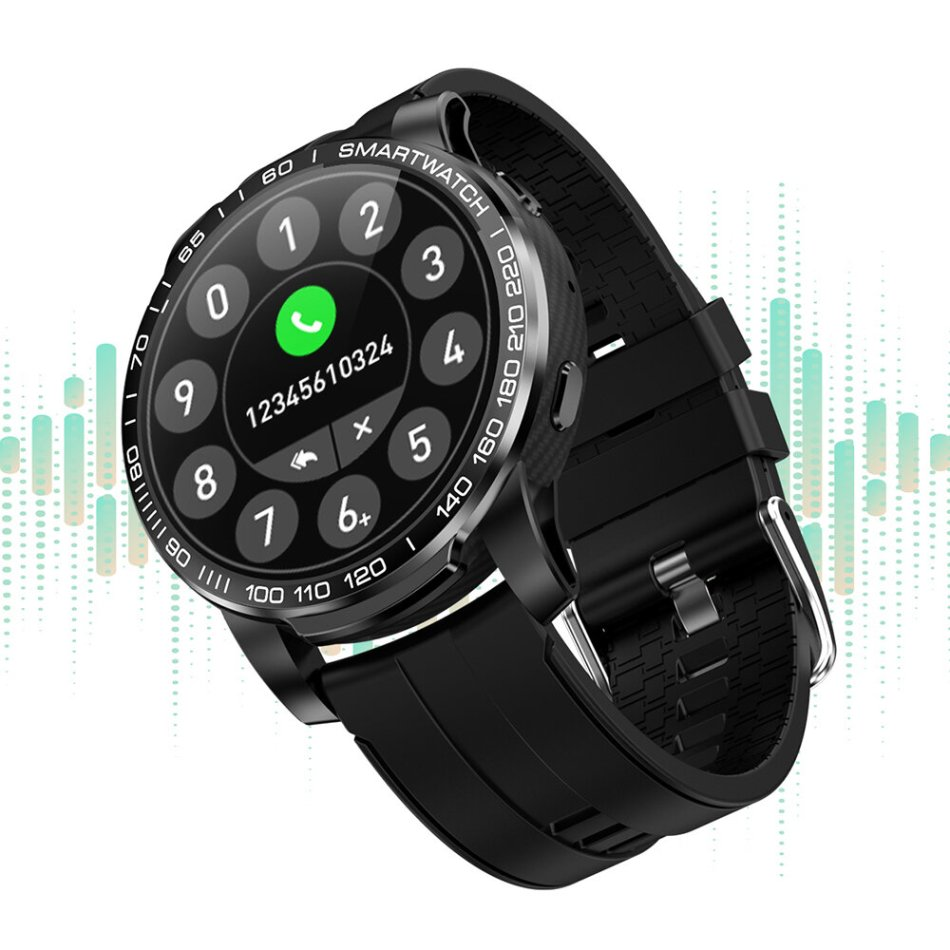 [bluetooth Call] Bakeey GW20 Heart Rate Blood Pressure Oxygen Monitor Weather Push Music Control Countdown Smart Watch