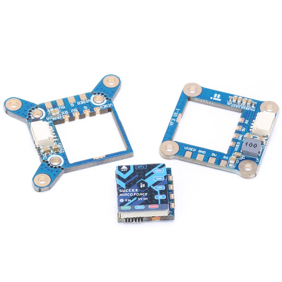 iFlight SucceX Micro Force VTX PIT/25/100/200mW/300mW Adjustable 5.8Ghz 48CH Mini FPV Transmitter 20x20mm/16mm/25mm for RC Racing Drone