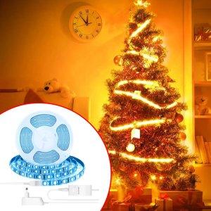 Στα 16€ από αποθήκη Αγγλίας | BlitzWolf® BW-LT11 2M/5M Smart APP Control RGBW LED Light Strip Kit Work With Amazon Alexa Google Assistant Christmas Decorations Clearance Christmas Lights – 2M EU Plug LED Strip Light Set
