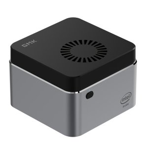 Στα €204.49 από αποθήκη Κίνας | GMK NucBOX Intel Celeron J4125 8GB LPDDR4 512G SSD Mini PC Desktop PC Mini Computer Quad Core 2.0GHz to 2.7GHz TDP 10W M.2 2242 SATA Type-C HDMI Windows 10 BT4.2