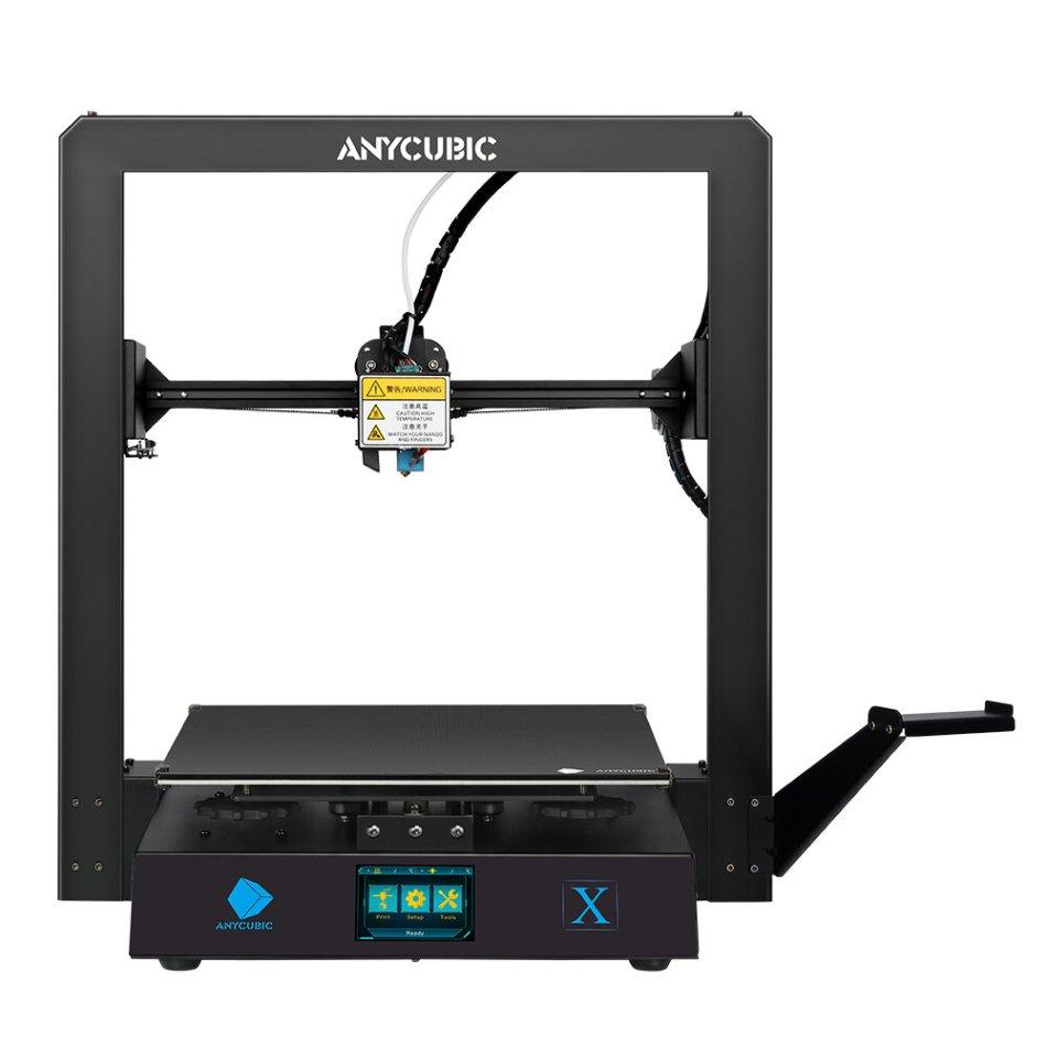 Anycubic® Mega X 3D Printer Kit 300x300x305mm Printing Size Modular Design with Dual Z Axis Filament Detect Ultrabase Platform