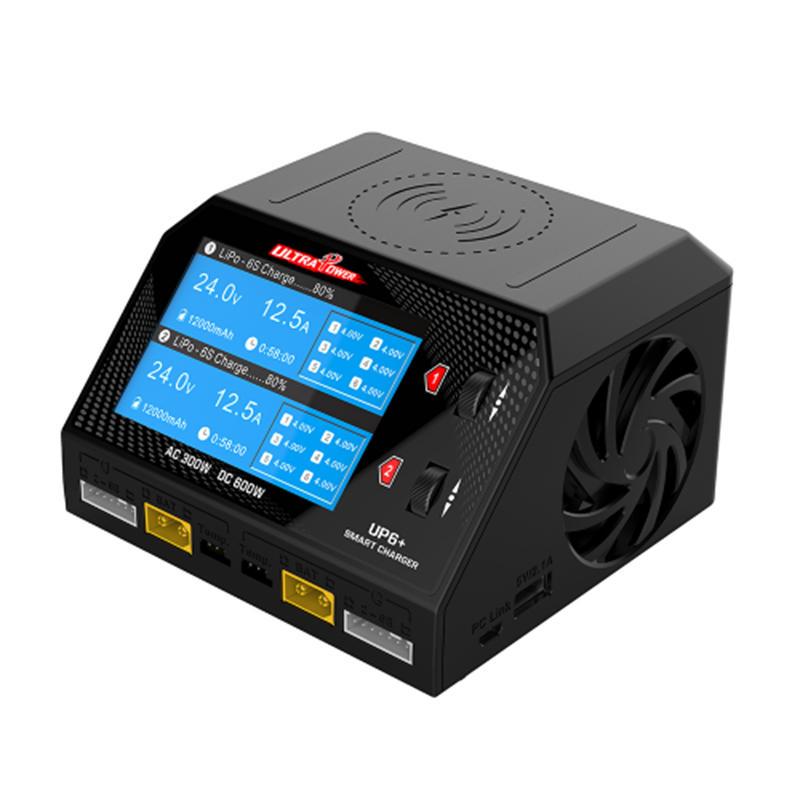 ULTRA POWER UP6+ AC 2x150W DC 2x300W 2x16A Dual Channel Battery Balance Charger Discharger
