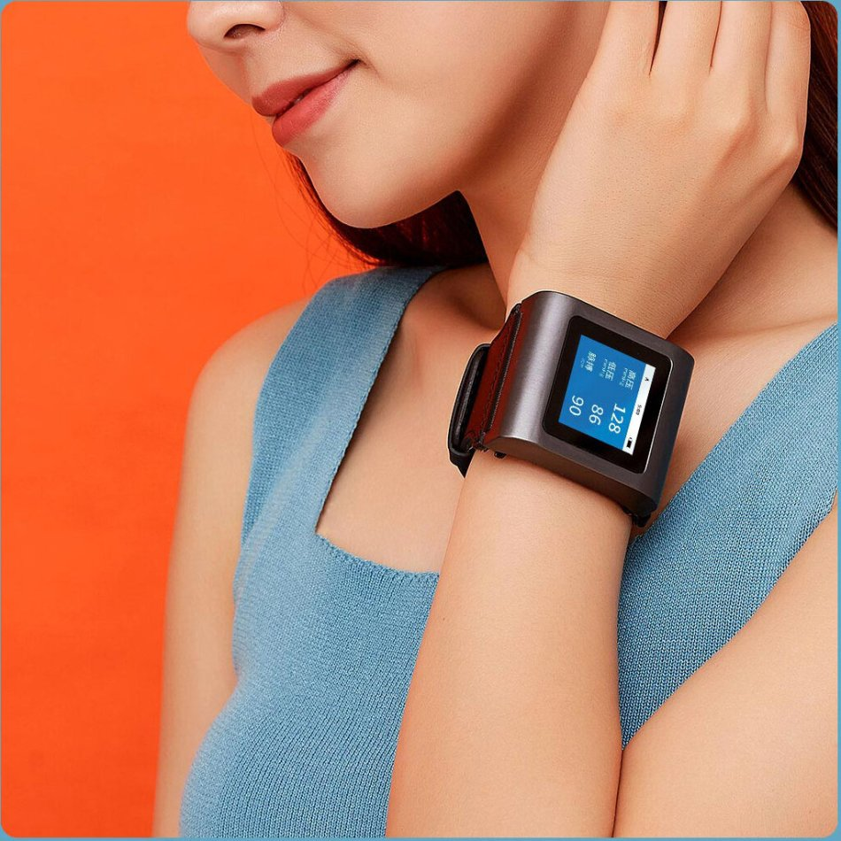 Hipee Smart Blood Pressure Watch 24-hour Accurate Dynamic Measurement Intelligent Wake-up from XIAOMI Youpin