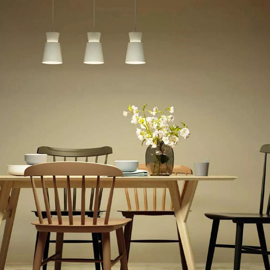 Yeelight YLDL05YL Three-head E27 Universal Dining Table Pendant Light Adjustable Chandelier APP Control