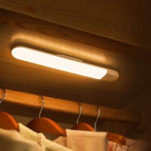 Στα €12.77 από αποθήκη Κίνας | Baseus PIR Motion Sensor LED Wardrobe Light USB Rechargeable Night Lamp Magnet Wall