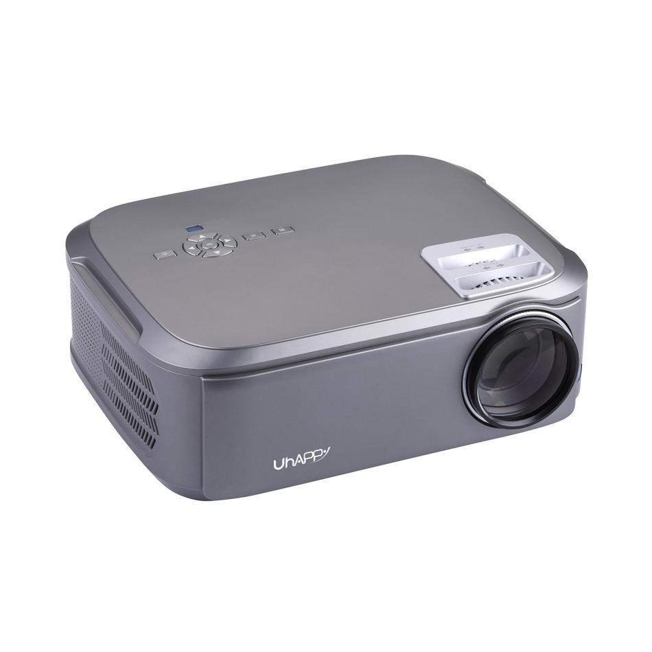 UHAPPY U76 Pro LCD Projector 1920*1080dpi 1080P HD 3500 Lumens LED Projector Mini Home Theater HDMI USB AV VGA Android System