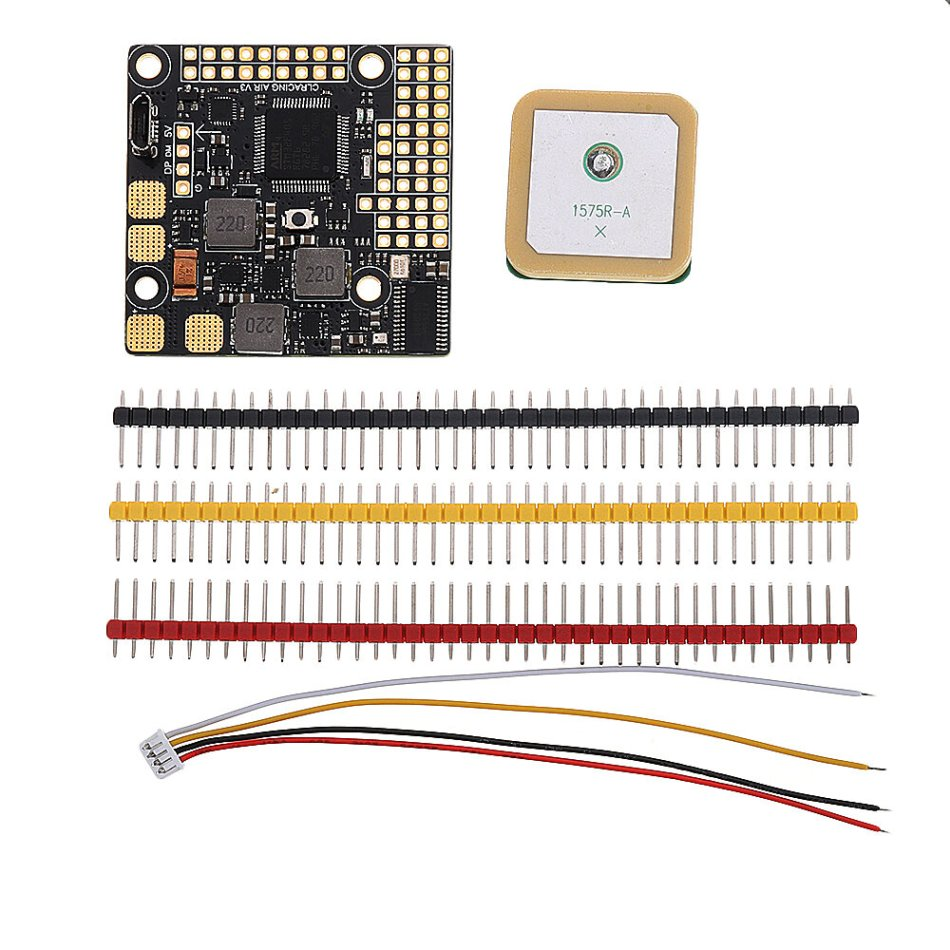 CLRACINGF4 AIR V3 Flight Control With GPS Build in Betaflight OSD for Fixed Wing RC Airplane