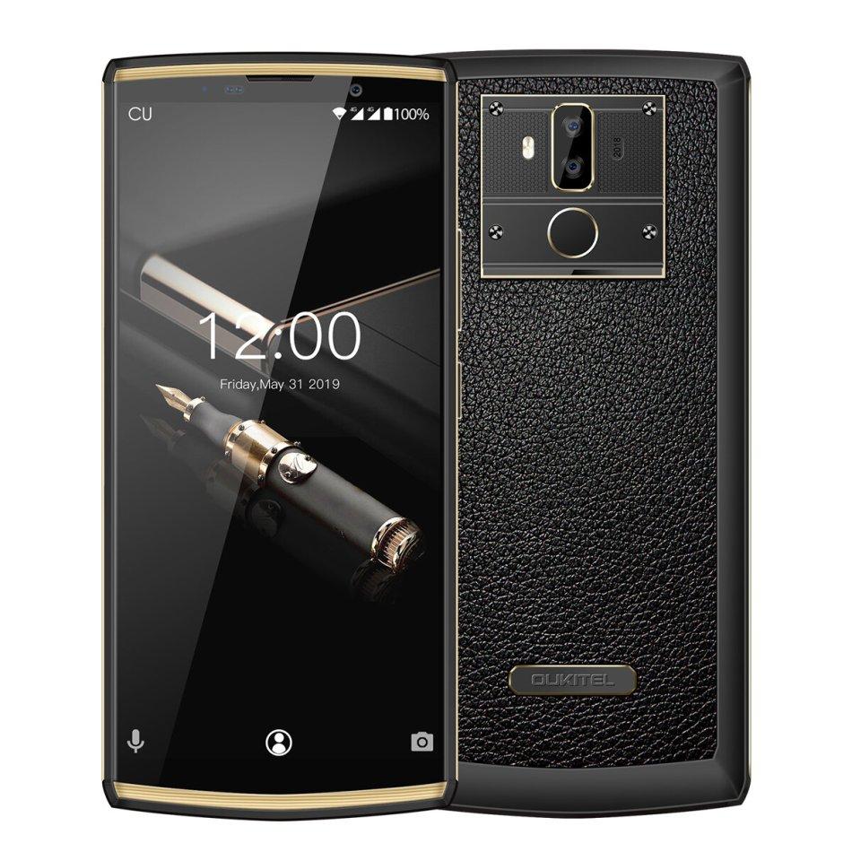 OUKITEL K7 Pro Global Version 6.0 inch 10000mAh Android 9.0 Face Unlock 13MP Dual Rear Camera 4GB 64GB MTK6763 4G Smartphone