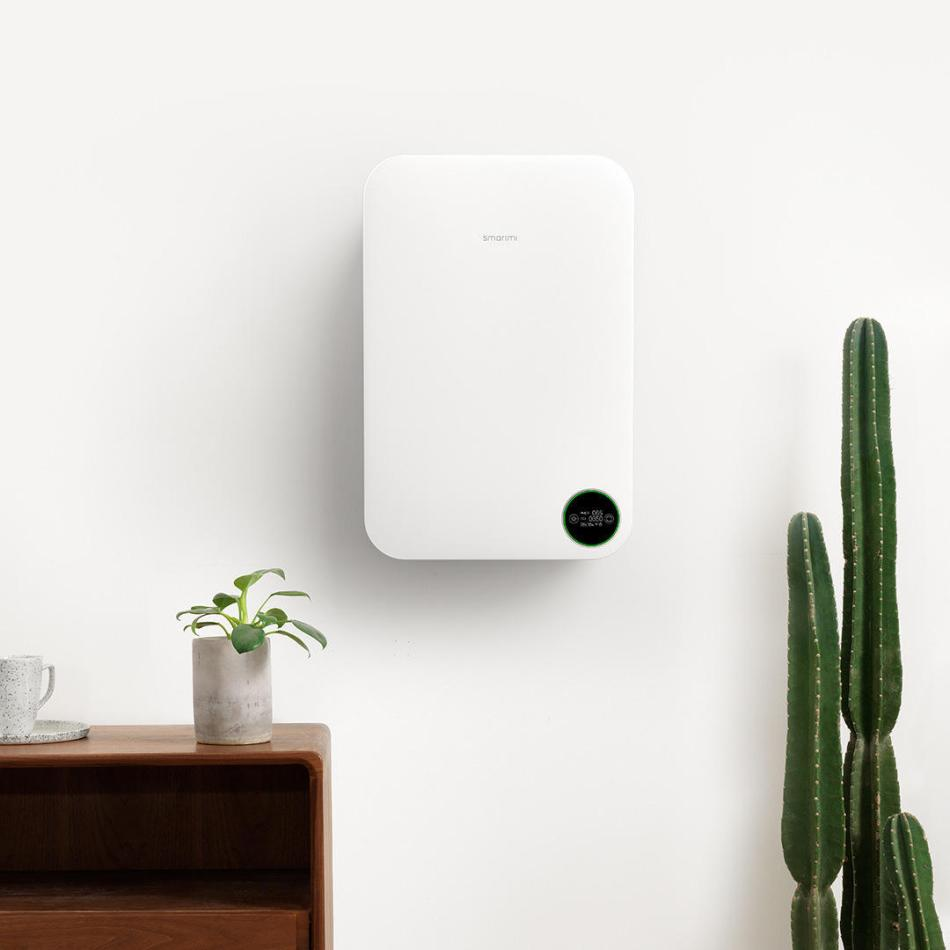 Smartmi Household Wall-mounted Air Purifier Indoor Office Remove Formaldehyde PM2.5 Air Purifier from Xiaomi Eco-system