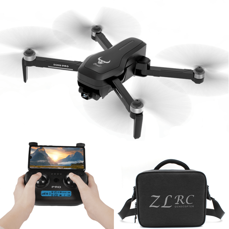 ZLL SG906 Pro 5G WIFI FPV With 4K HD Camera 2-Axis Gimbal Optical Flow Positioning Brushless RC Drone Quadcopter RTF