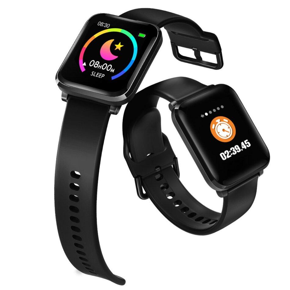 [New Released] BlitzWolf® BW-HL1 1.3' IPS 8 Sports Mode IP68 Multi-language Display HR Blood Pressure O2 15Days Standby Smart Watch