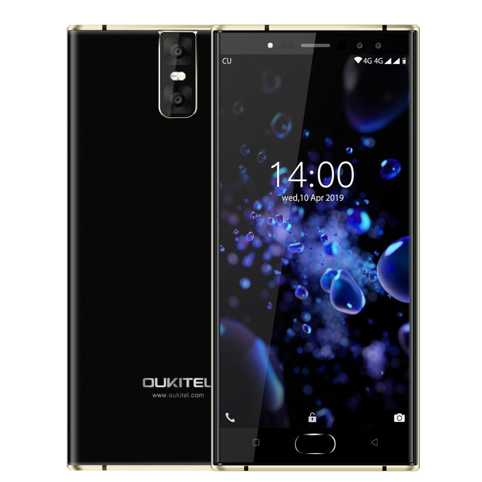 Oukitel K3 Pro Global Version 5.5 inch FHD Android 9.0 6000mAh Face Unlock 4GB RAM 64GB ROM MT6763 Octa Core 2.0GHz 4G Smartphone