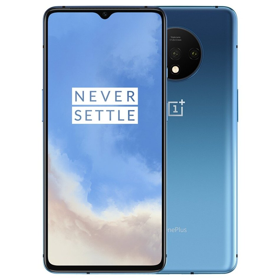OnePlus 7T Global Version 6.55 inch 90Hz Refresh Rate HDR10+ Android 10 NFC 3800mAh 48MP Triple Rear Cameras 8GB 128GB UFS 3.0 Snapdragon 855 Plus 4G Smartphone