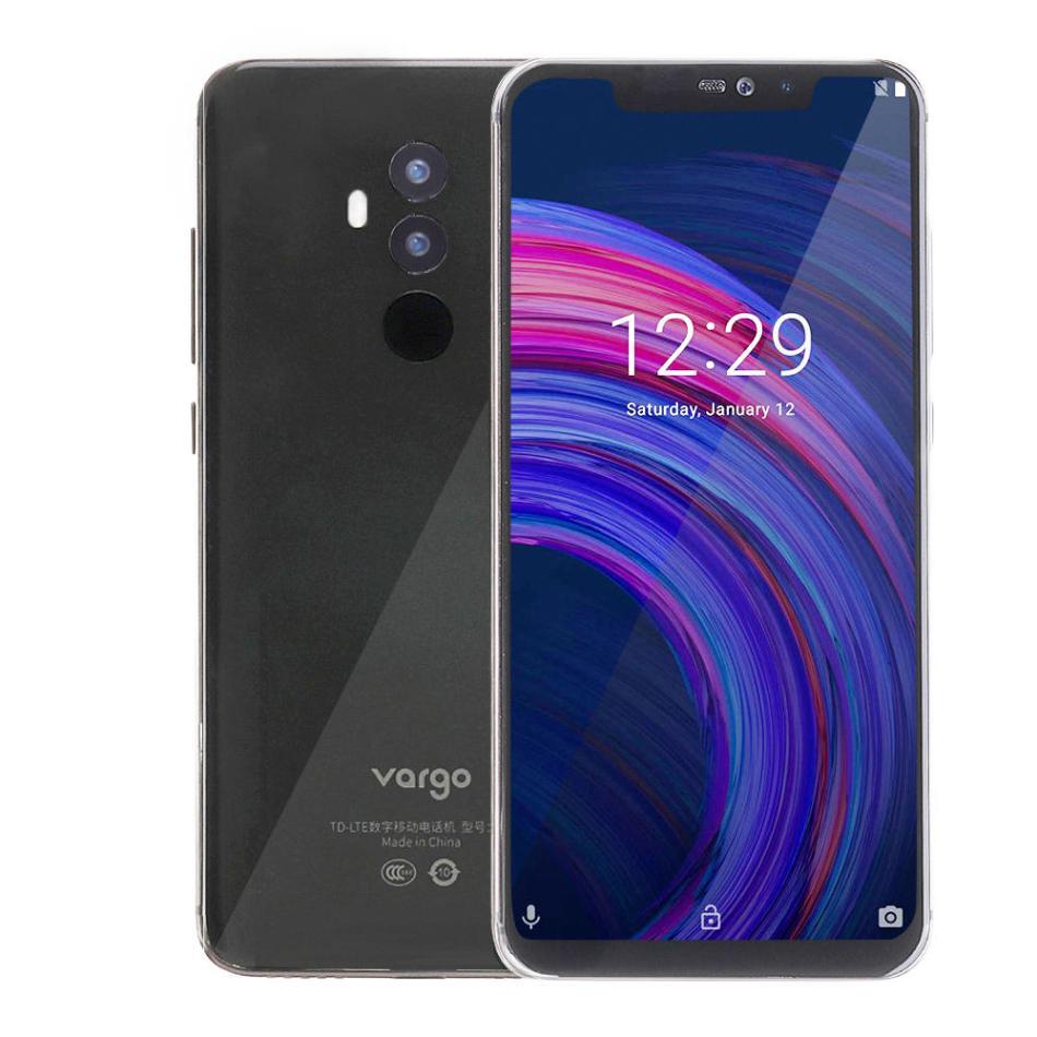 Vargo VX4 6.2 inch FHD+ Notch Screen 3550mAh 16MP Dual Cameras 6GB RAM 128GB ROM Helio P23 Quad Core 2.0GHz 4G Smartphone