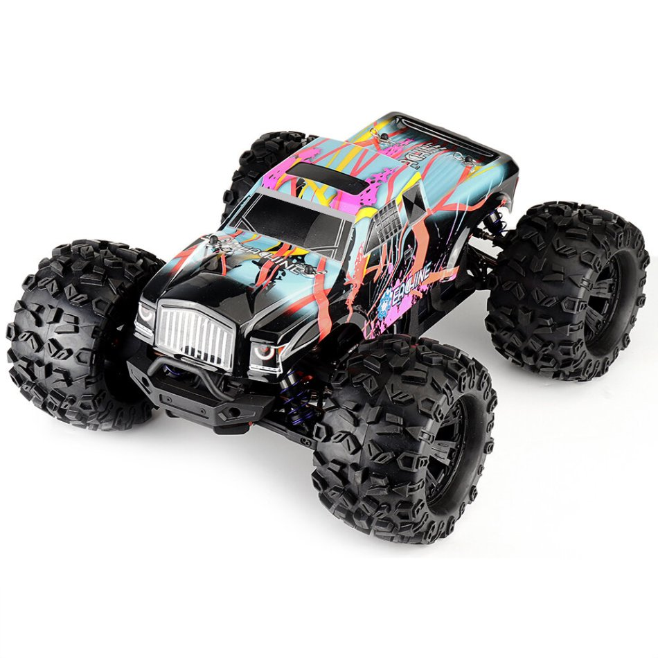 Eachine EAT02 1/8 4WD 2.4G RC Car Brushless Big Foot High Speed 90km/h Drift Vehicle Models Truck Metal Chassis