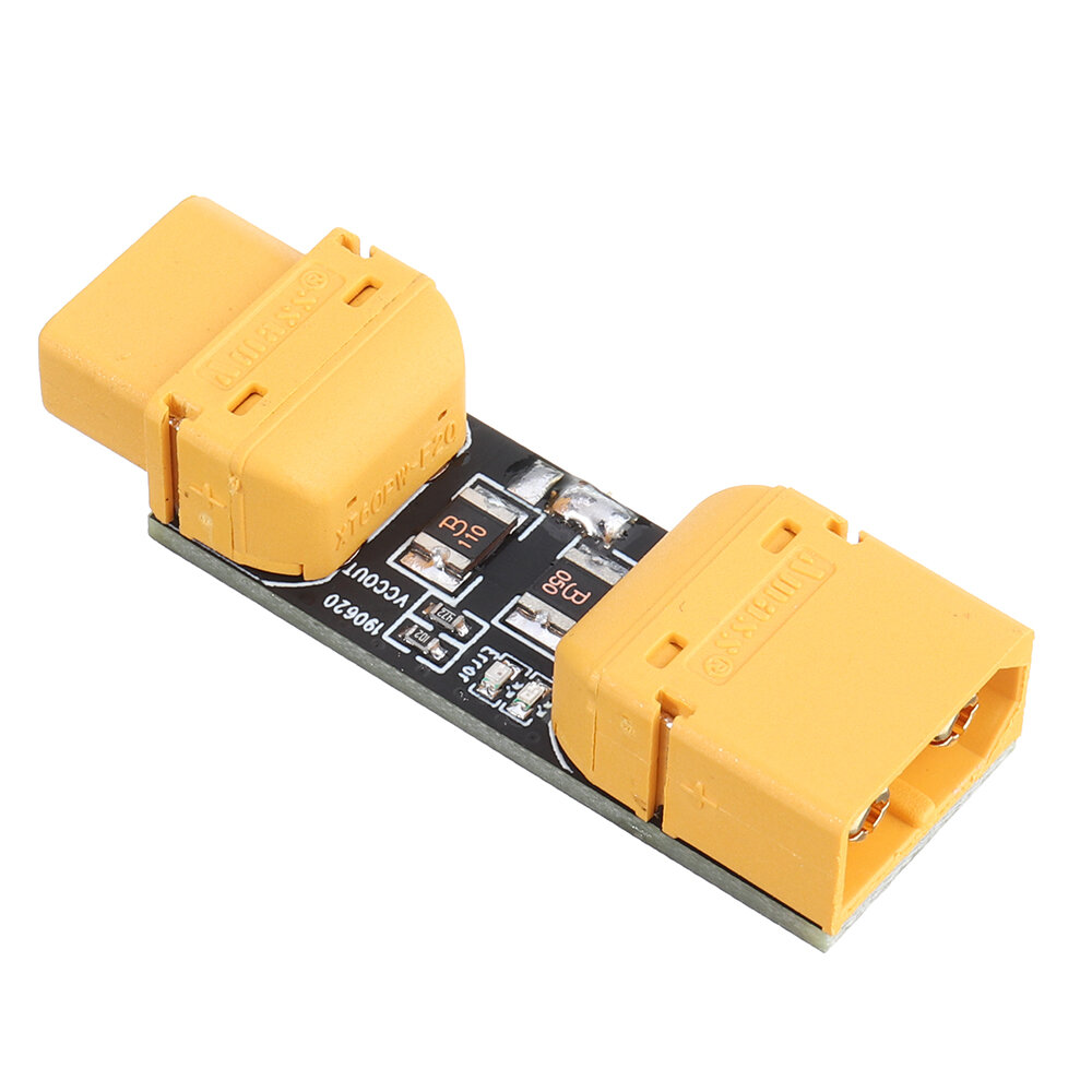 URUAV 1-6S 33V Amass XT60 Smoke Stopper Connecting Line Short Tester Circle Breaker for RC Model