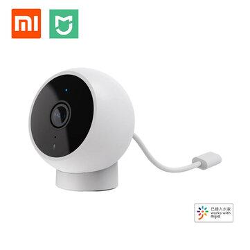 Xiaomi Mijia 1080P 170° Smart IP Camera AI Human Detection IP65 Waterproof IR Infrared Night Vision SD Card & Cloud Storage Real-time Intercom Monitor
