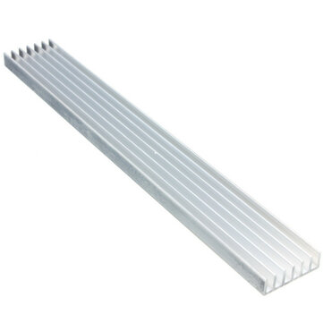 1w 3w 5w high power led heat sink led cooling for aluminum plate 15cmx20mmx6mm