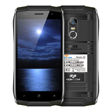 ZoJi Z6 4.7-Inch Corning Gorilla Glass 4 IP68 Waterproof Fingerprint 1GB RAM 8GB ROM MT6580 Quad-Cor