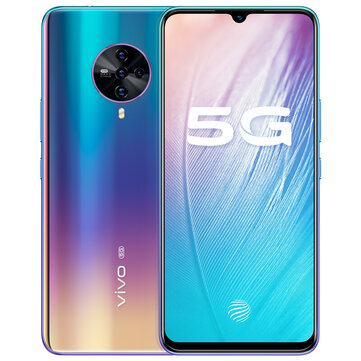 vivo S6 5G CN Version 6.44 inch FHD+ HDR10 Android 10.0 4500mAh 32MP Front Camera 8GB 128GB Exynos 980 SmartphoneSmartphonesfromMobile Phones & Accessorieson banggood.com